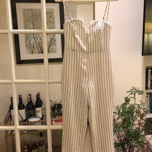 NBD Striped Jumpsuit - tags on, never worn